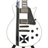 ESP LTD James Hetfield Iron Cross Electric Guitar Snow White B-Stock 0190