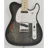 G&L Tribute ASAT Classic Semi-Hollow Electric Guitar Charcoal Burst