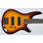 Ibanez SR400QM-BBT SR Series Electric Bass in Brown Burst Finish