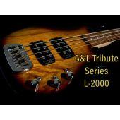 G&L Tribute L-2000 Electric Bass Natural Gloss
