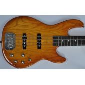 G&L MJ-4 USA Custom Made Electric Bass in Honeyburst