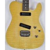 G&L Tribute ASAT Special Deluxe Flamed Maple Top Guitar in Natural
