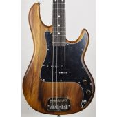 G&L LB-100 USA Custom Monkey Pod Electric Bass in Natural Satin Finish