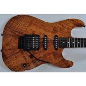 Schecter CET Koa Natural Gloss USA Custom Shop Electric Guitar