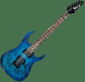 Ibanez RG Standard RG421PB Electric Guitar in Sapphire Blue Flat