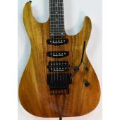 ESP USA M-III Koa Top Electric Guitar in Natural Gloss Finish