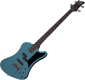 Schecter Sixx Bass Electric Bass Pelham Blue