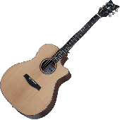 Schecter Orleans Studio Acoustic Guitar in Natural Satin Finish