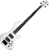 Schecter Stiletto Stage-4 Electric Bass Gloss White