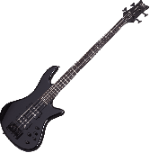 Schecter Stiletto Stage-4 Electric Bass Gloss Black