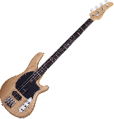Schecter CV-4 Electric Bass Gloss Natural