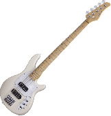 Schecter CV-5 Electric Bass Ivory