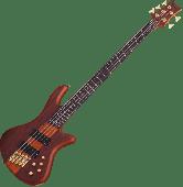 Schecter Stiletto Studio-5 FF Electric Bass Honey Satin