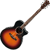 Ibanez AE800AS Acoustic Electric Guitar in Antique Sunburst High Gloss Finish