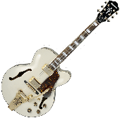 Ibanez Artcore AF75TDGIV Hollow Body Electric Guitar in Ivory Finish