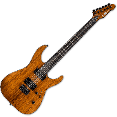 ESP LTD M-1000HT Koa Top Electric Guitar in Natural