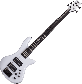 Schecter Stiletto Stage-5 Electric Bass Gloss White