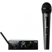 AKG WMS40 Mini Single Vocal Set Wireless Microphone System - Band A