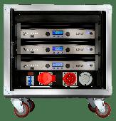 Crown Audio Vrack 1200HD Loaded Amplifier Rack