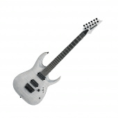 Ibanez RGAIX6FM -WFF Iron Label Series Electric Guitar in White Frost Flat