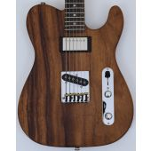G&L USA ASAT Classic Bluesboy Monkey Pod Electric Guitar in Natural Finish