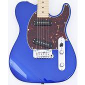 G&L USA ASAT Special Custom Guitar in Midnight Blue Metallic Vibrato!