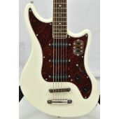 Schecter Hellcat-VI Electric Guitar Ivory Pearl