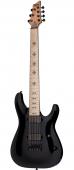 Schecter Jeff Loomis JL-7 Black Electric Guitar 410