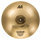 "Sabian 20"" AA Raw Bell Crash Brilliant Finish"