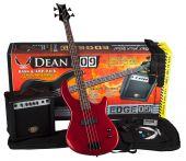 Dean Edge 09 Bass Guitar Pack MRD w/Amp E09 MRD PK