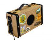 Luna Uke Portable Suitcase Amp 5 Watt UKE SA 5