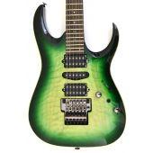 Ibanez Kiko Loureiro Signature w/Case Green Mist Burst KIKO200 GMT Electric Guitar