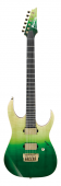 Ibanez Luke Hoskin Signature LHM1 TGG Transparent Green Gradation Electric Guitar w/Bag