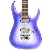 Ibanez RGA61AL IAF RGA Axion Label 6 String Indigo Aurora Burst Flat Electric Guitar