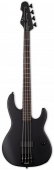 ESP LTD AP-4 Black Metal 4 String Black Satin Bass Guitar