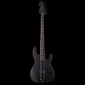 ESP LTD AP-4 Black Metal 4 String Black Satin Bass Guitar