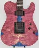 Schecter PT Masterwork Custom Guitar with Buckeye Burl Stabilized top