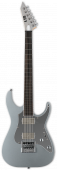 ESP LTD KS M-6 Evertune Ken Susi Metallic Silver Electric Guitar w/Case