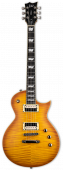 ESP LTD EC-1000T Honey Burst Satin Fishman Fluence Electric Guitar B-Stock