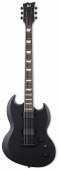 ESP LTD VIPER-400 Baritone Black Satin Electric Guitar B-Stock