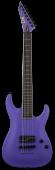 ESP LTD SC-607 Baritone 1 Hum Stephen Carpenter Deftones Purple Electric Guitar w/Case B-Stock