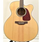 Takamine GJ72CE-NAT Cutaway Acoustic Electric Guitar Natural B-Stock 1987