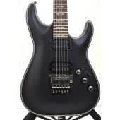 Schecter Hellraiser C-1 P FR Electric Guitar Satin Black Prototype