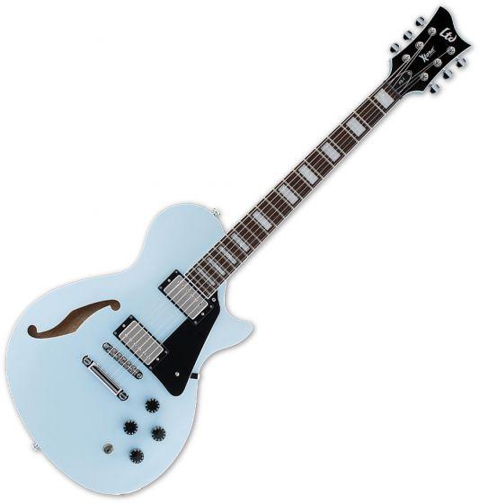 ESP LTD PS-1 Semi-Hollow Electric Guitar Sonic Blue, XPS1SOB