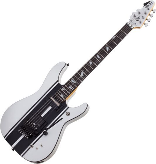 Schecter DJ Ashba Signature Electric Guitar Satin White, SCHECTER279