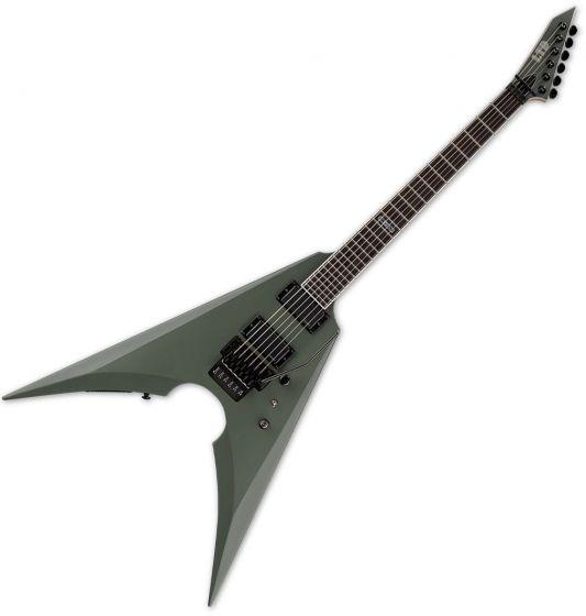 ESP LTD MK-600 Mille Petrozza Electric Guitar Military Green Satin B-Stock, LMK600MGS.B