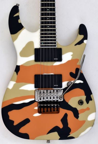ESP E-II M-II Neck Thru Body Electric Guitar in Desert Camo, EIIMIINTDC