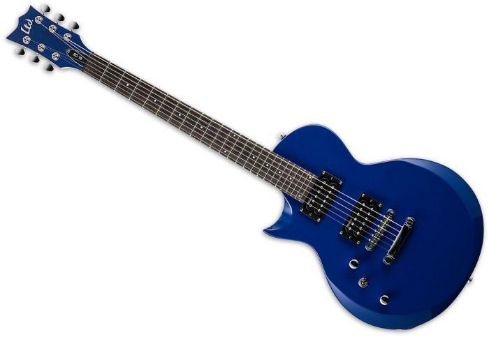 ESP LTD EC-10 Left-Handed Electric Guitar Blue, LEC10KITBLUELH