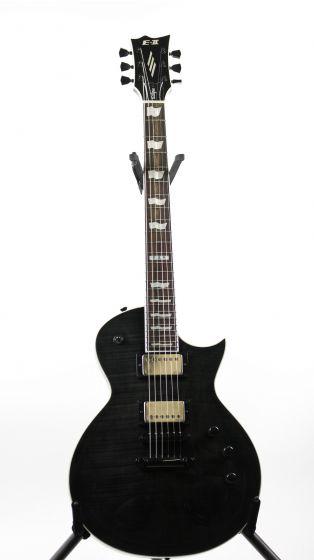 ESP E-II Eclipse FM STBLK Flamed Maple See Thru Black Electric Guitar, EIIECFMSTBLK