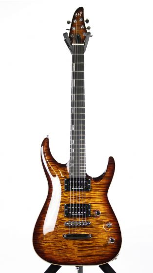 ESP Original Series Horizon CTM Antique Brown Sunburst Electric Guitar, EHORNTCTMABSB